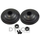 Dyson V6, V7, V8, V10, SV03, SV05, SV09, SV12 V-Ball Wheel Service Assembly, 966817-01