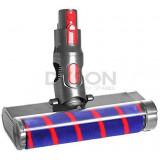 Dyson V7, V8, V10, V11, SV12, SV14 Hardfloor Soft Roller Brush Floor Tool, QUATLS350
